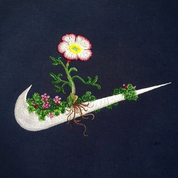 Embroidered Sports Logos