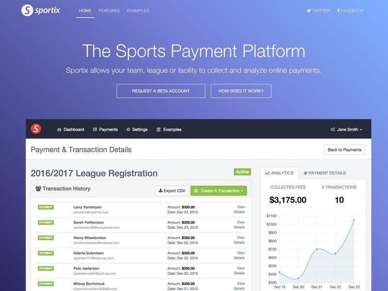 Sports Payment Platforms