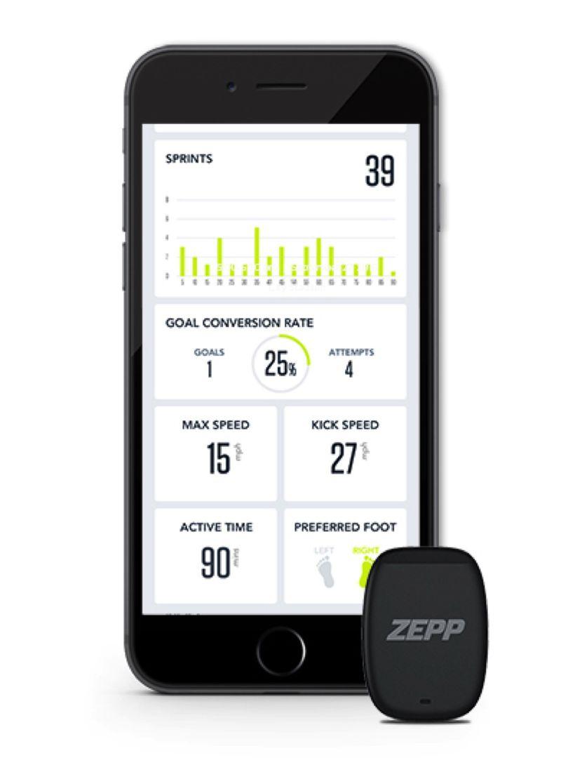Wearable Soccer Sensors