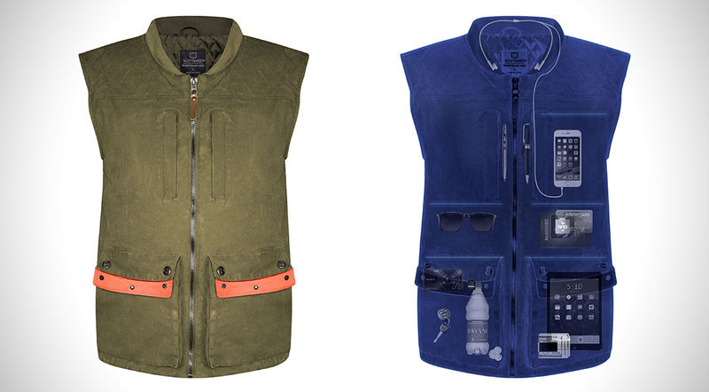 Compartmentalized Activity Vests