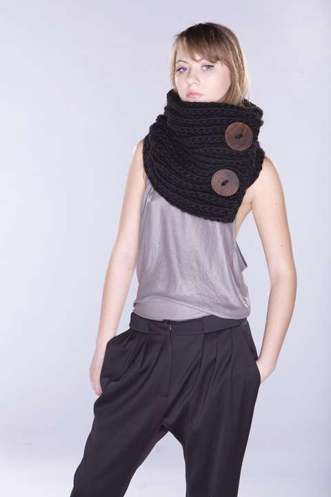 Chunky Crochet Scarves