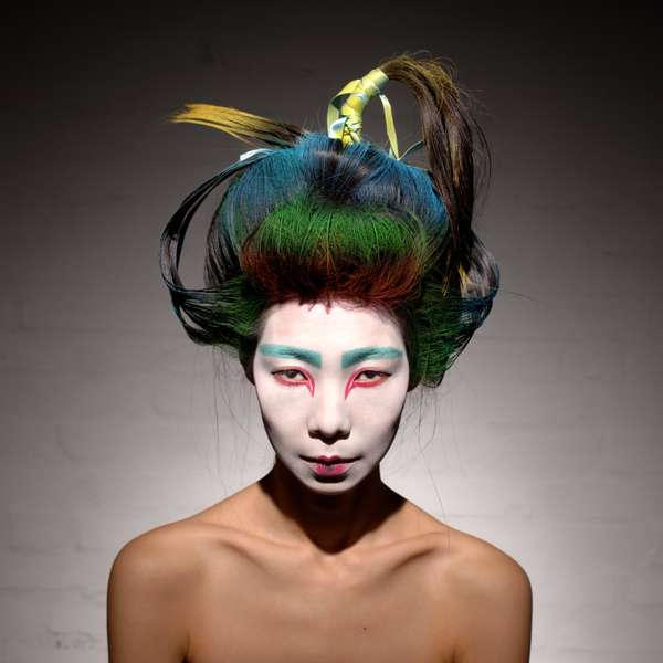Vibrant Geishas