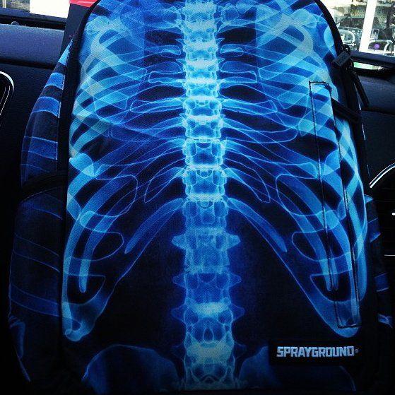 Photorealistic X-Ray Backpacks