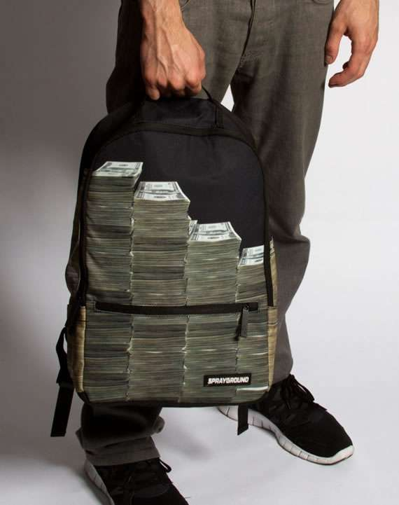 Sprayground Money Stacks Backpack