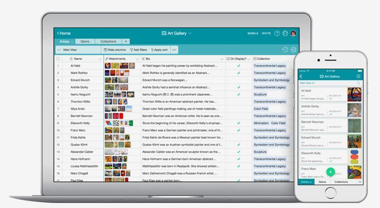 Reimagined Database Apps