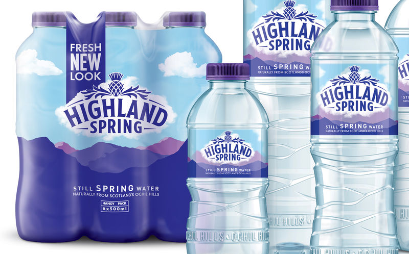 Geographical Water Bottle Branding
