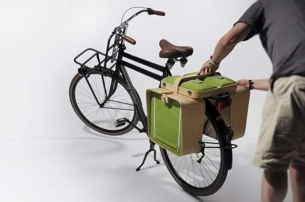 Bike-Ready Dining Panniers