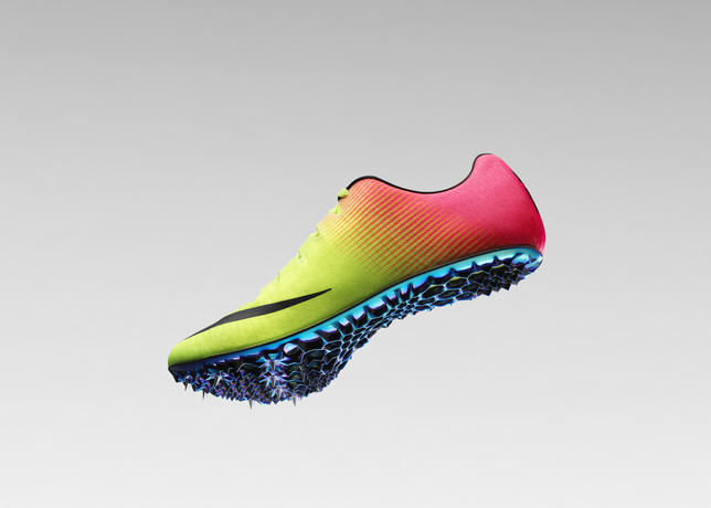 Spiked Sprinting Shoes