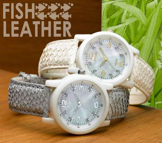 Fish Leather Straps