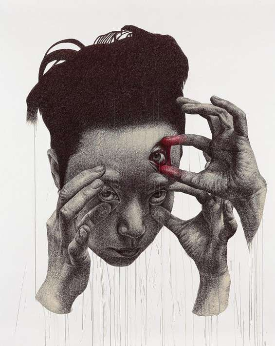 Spooky Surrealist Illustrations