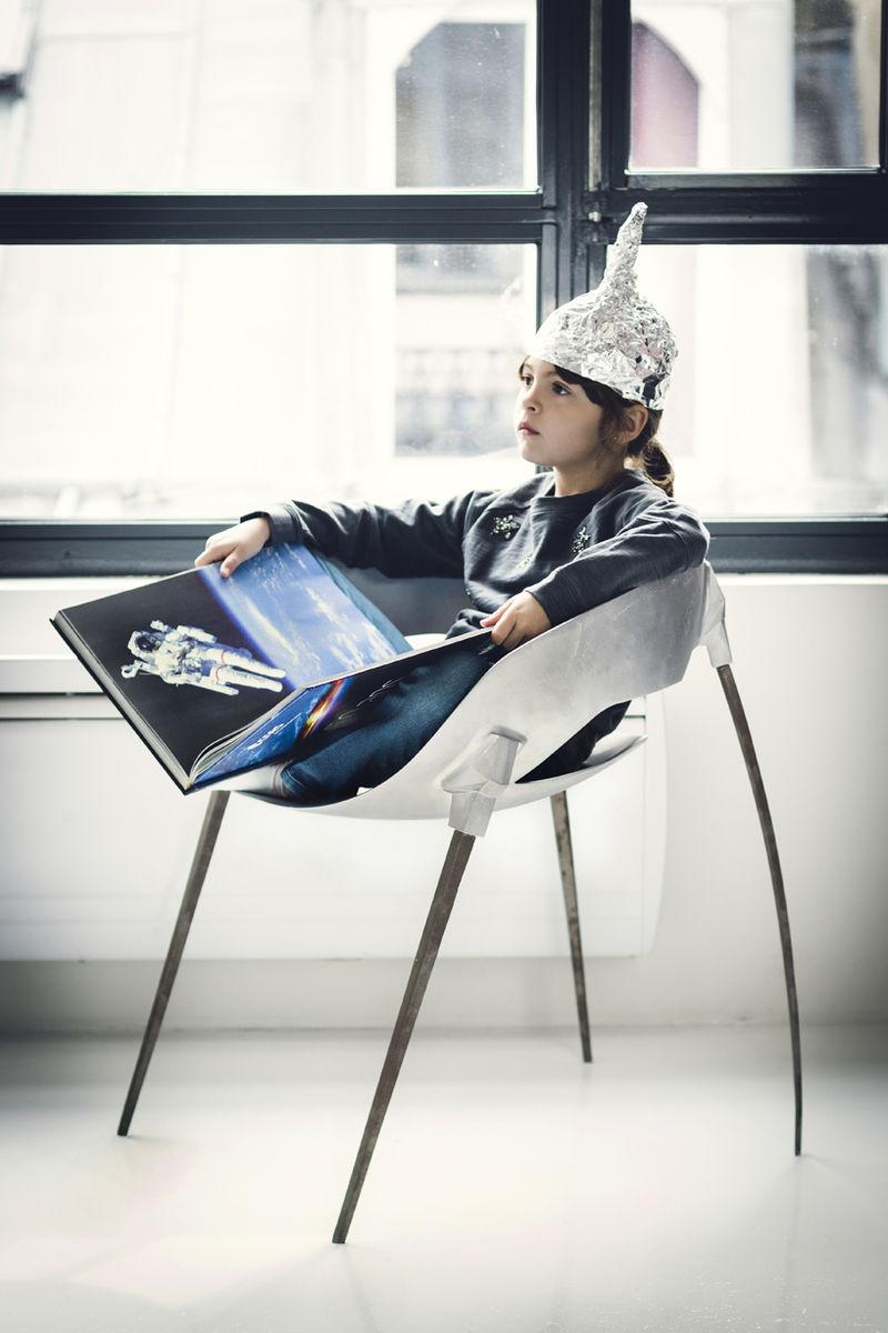 Satellite-Inspired Chairs