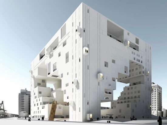 Cube-Shaped Architecture