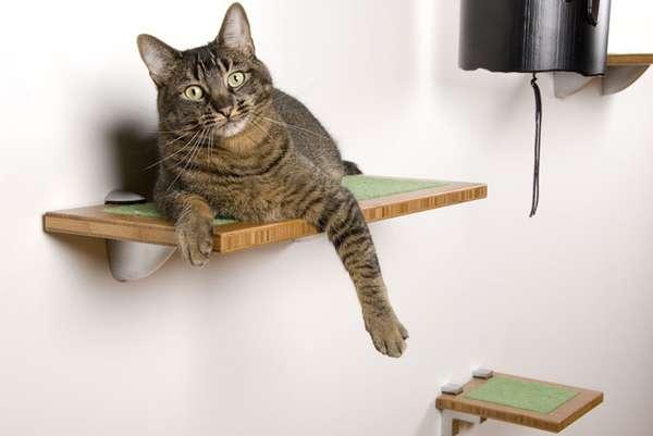 Panelized Feline Furniture