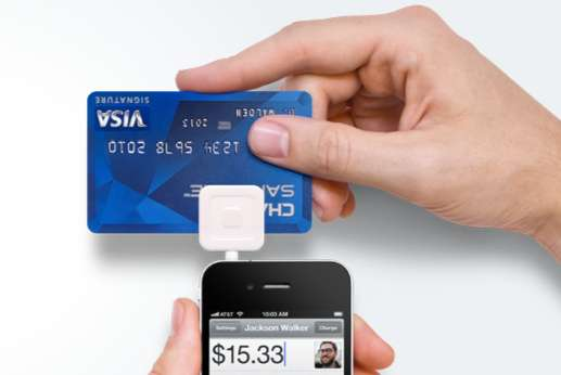 Smartphone Visa Readers Update Square Device And App