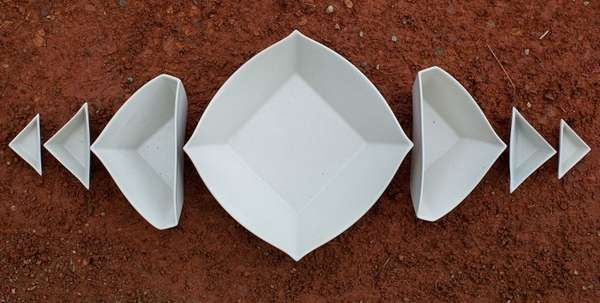 Geometric Stacking Saucers