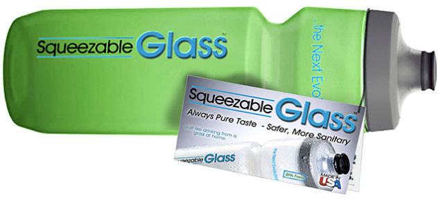 Squeezable Glass Bottles