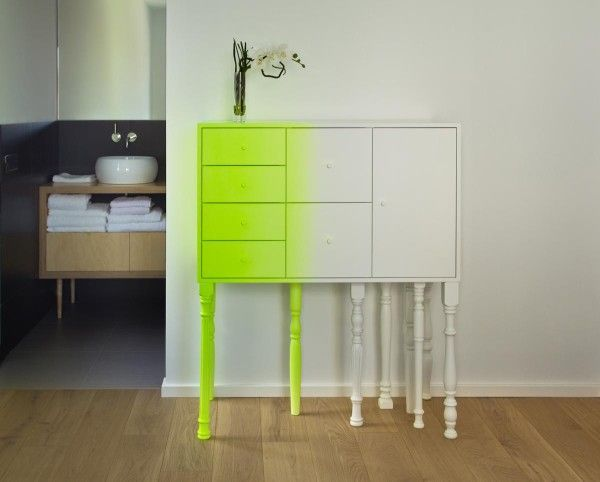 Asymmetrical Ombre Furniture