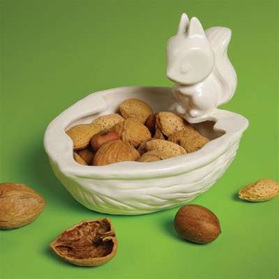 Ceramic Squirrel Dishes