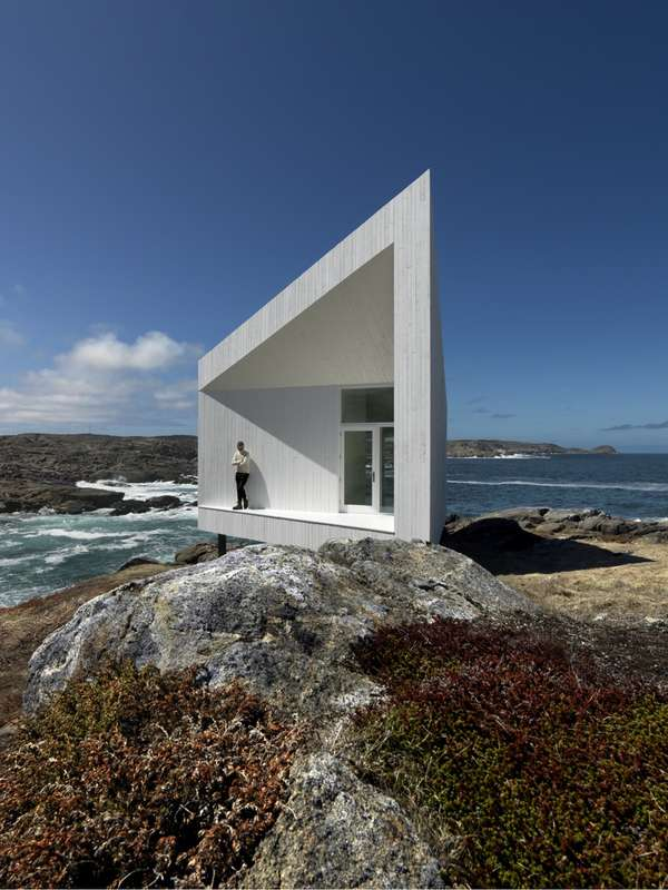 Triangular Seaside Abodes