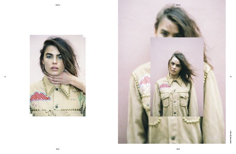 Superimposed Style Editorials