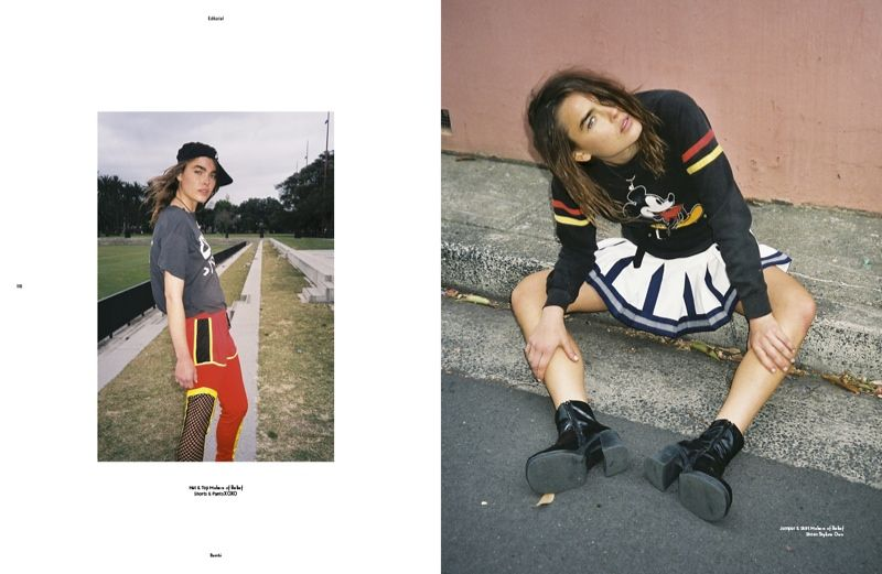 Urban Wild Child Editorials
