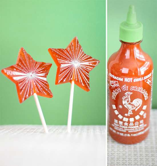 Fiery Hot Sauce Pops