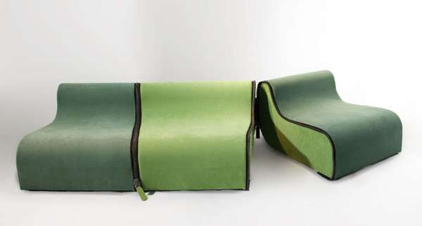 Zipped-Up Couches