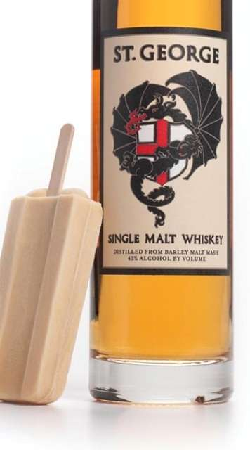 Whiskey-Packed Popsicles