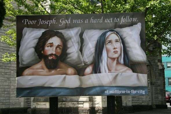 Scandalous Church Billboards