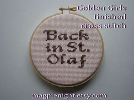 Golden Girl Crafts