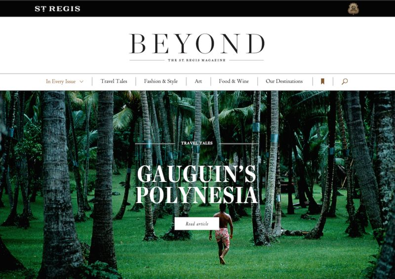 Longform Digital Travel Magazines