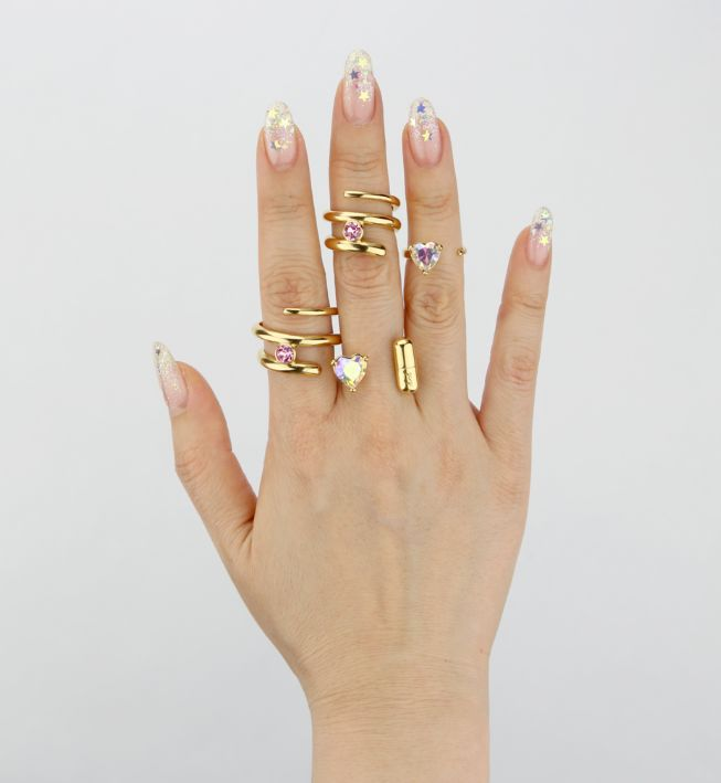 Stackable Ring Collections