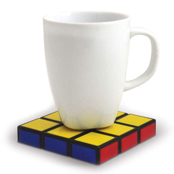 Stackable Rubik Cube Coasters