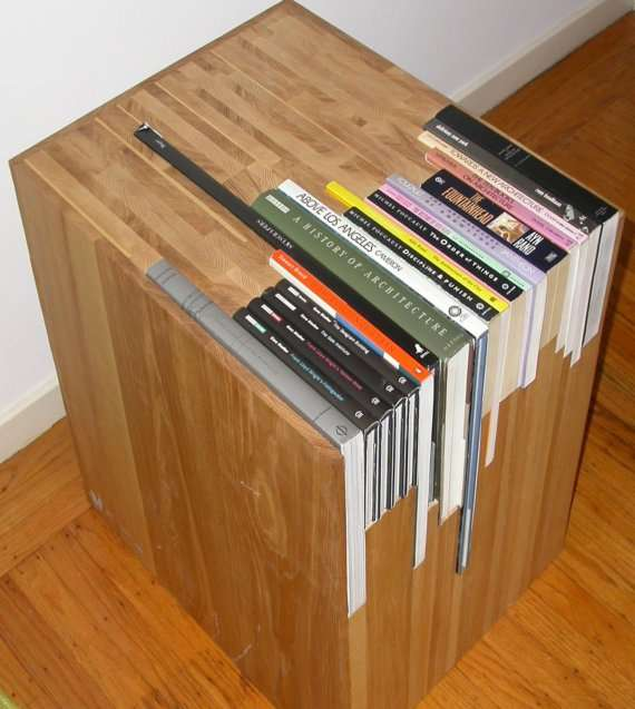 Slotted Novel Furniture