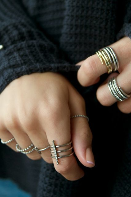 Stylish Stacking Rings