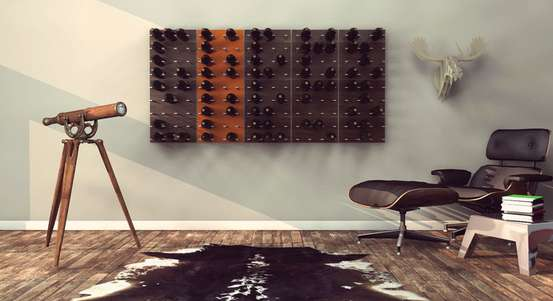 Modular Wine Bottle Storage