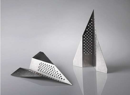 Paper Plane Graters