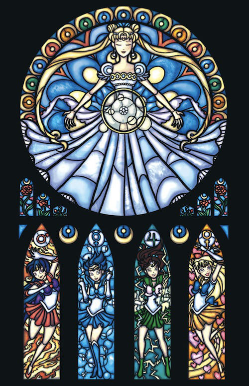 Animated Stained Glass Art