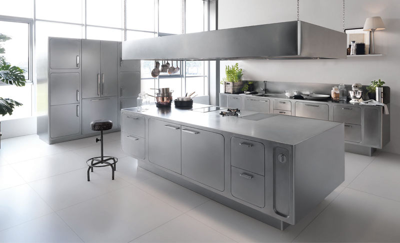All-Stainless Kitchens