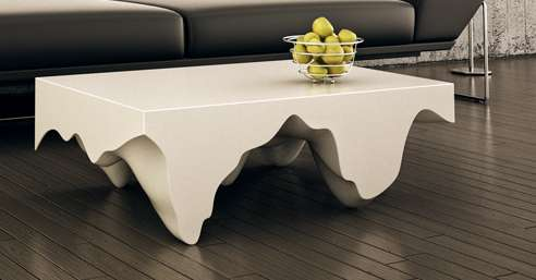 Cave-Like Coffee Tables