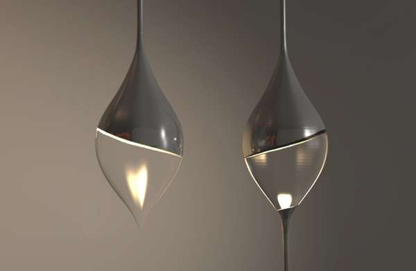 Elegant Teardrop Illuminators