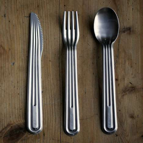 Stackable Steel Cutlery