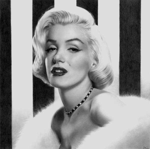 Flawless Celebrity Pencil Portraits