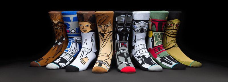 Graphic Sci-Fi Socks