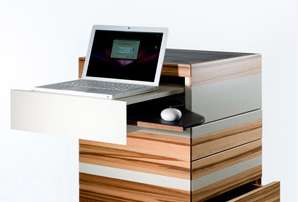 Fold-Out Laptop Towers