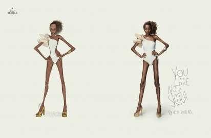 Unrealistic Anorexia Ads