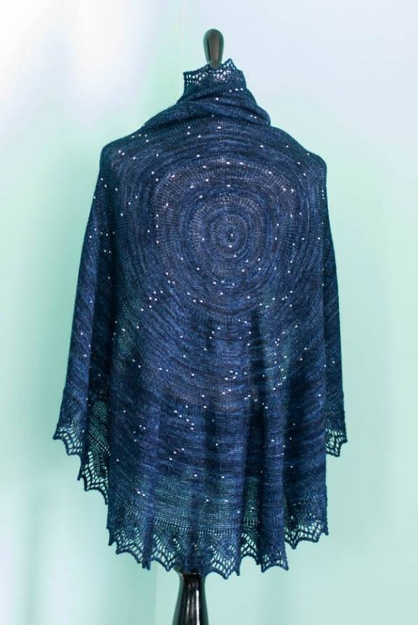 Hand-Woven Interstellar Scarves