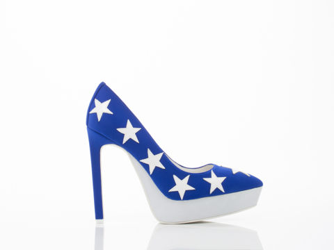 Patriotic Statement Heels