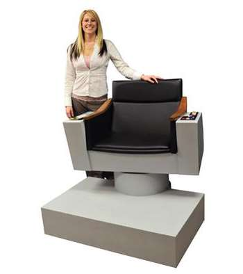 Star Trek Control Chairs Spock Inspired Seating For Your Home