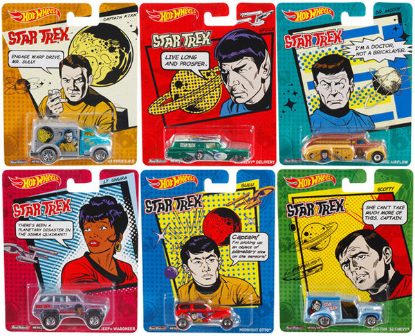 star trek hot wheels